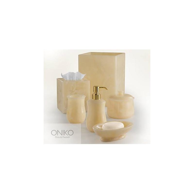 Set de accesorios de Baño 6 piezas Ónix Ámbar