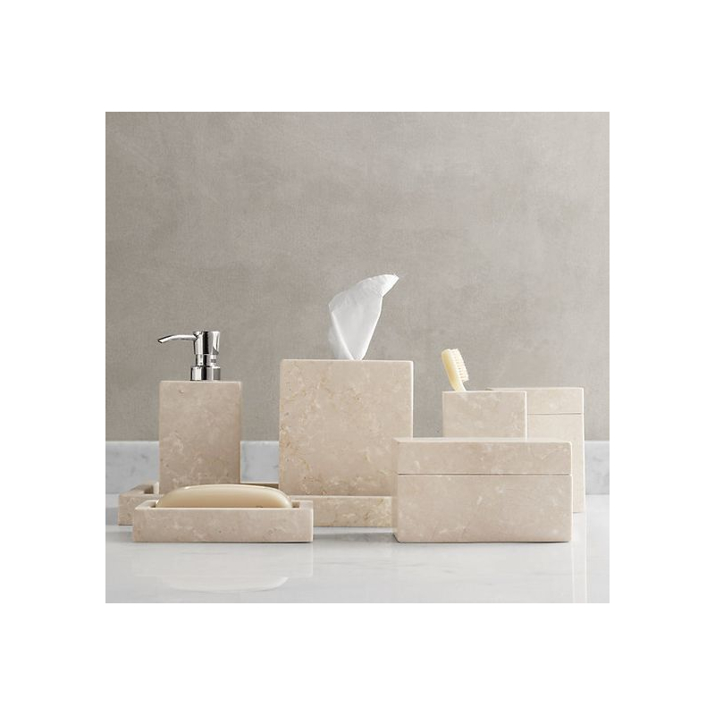 Bathroom Accessories In Natural Stone  Marble