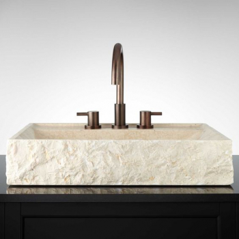 NATURAL STONE SINK MARBLE  40 x 30  cm OMBMR40
