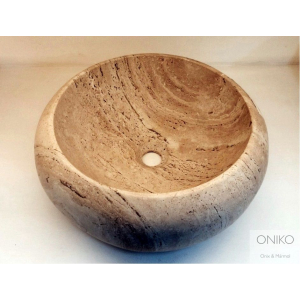 NATURAL STONE SINK DONA 40 cm