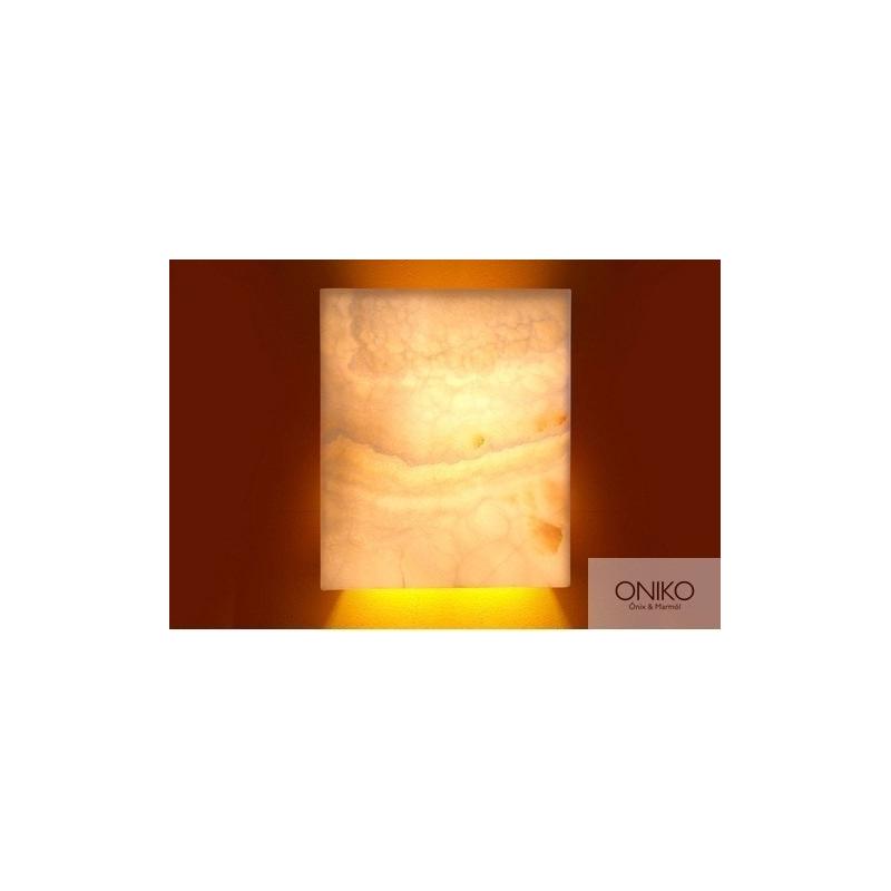 LÁMPARA ARBOTANTE GRAPA PLACA 30 x 20 cm